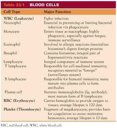 Human Blood Cell Typing Worksheet Answer Key and 75 Best Types Of Cells Images On Pinterest