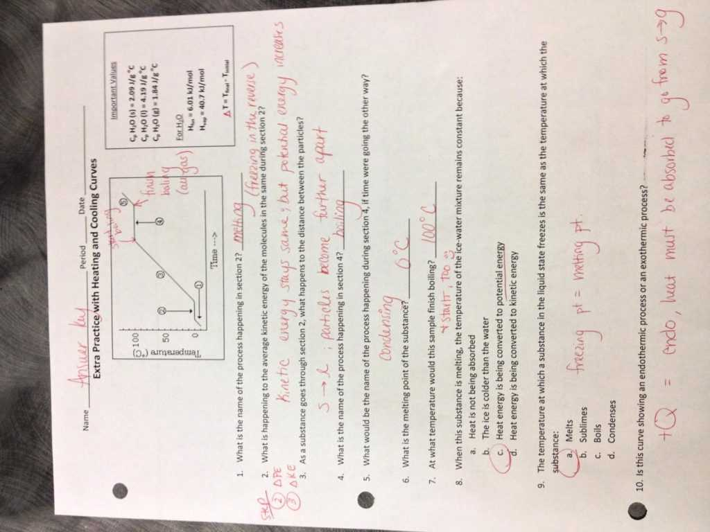 Inferences Worksheet 4 Along with Heat and States Matter Worksheet Answers the Best Workshe