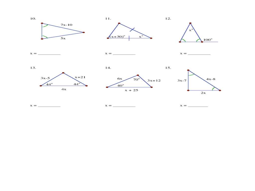 Interior Angles Of A Triangle Worksheet Pdf with Ixl Scalene isosceles and Equilateral Triangles 4th