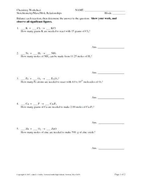 Mole Mass and Particle Conversion Worksheet Also New Mole Calculation Worksheet Beautiful Moles and Mass Worksheet