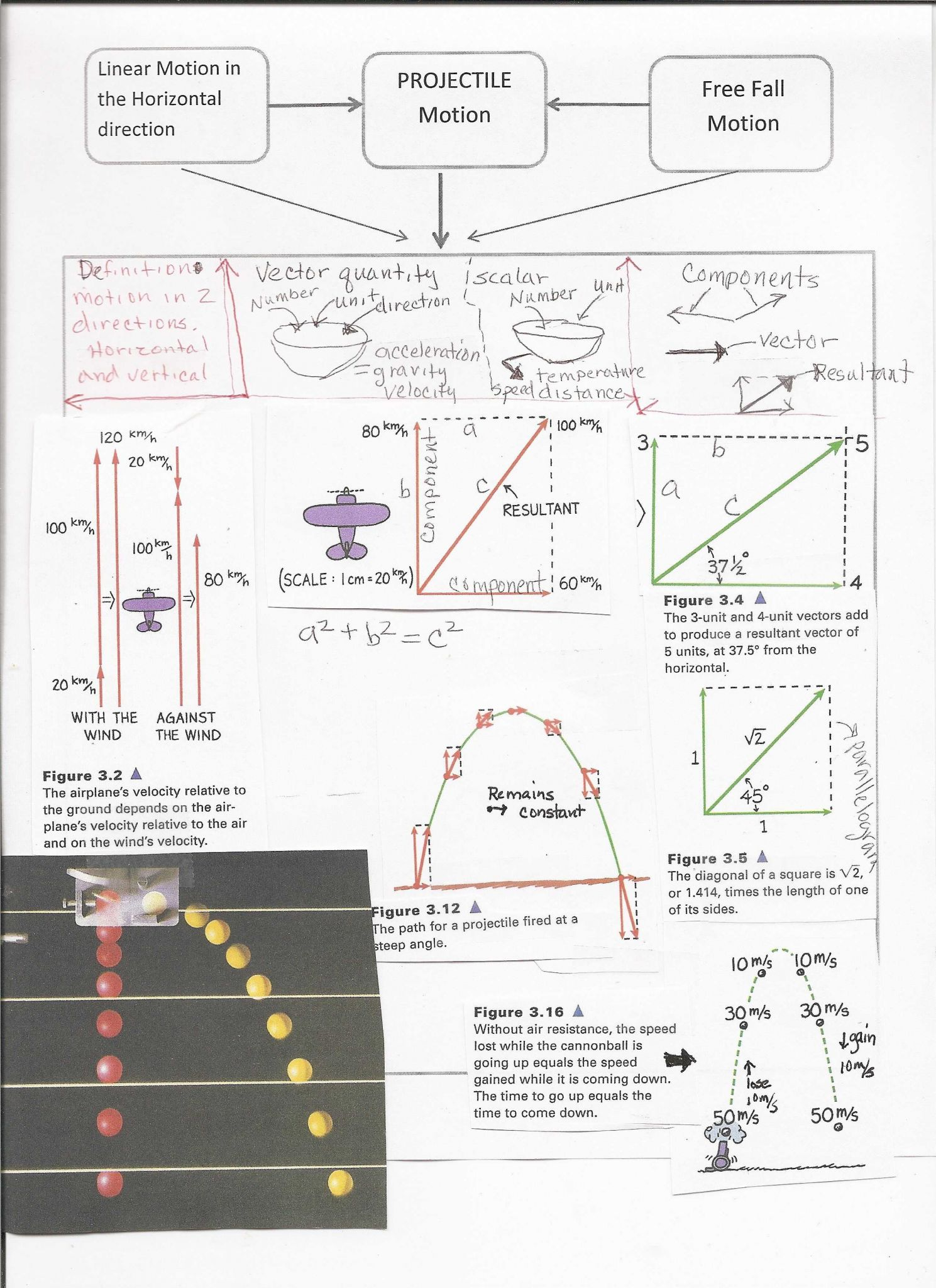 Momentum and Collisions Worksheet Answers Physics Classroom as Well as Image Result for Conceptual Physics Projectile Motion Test A