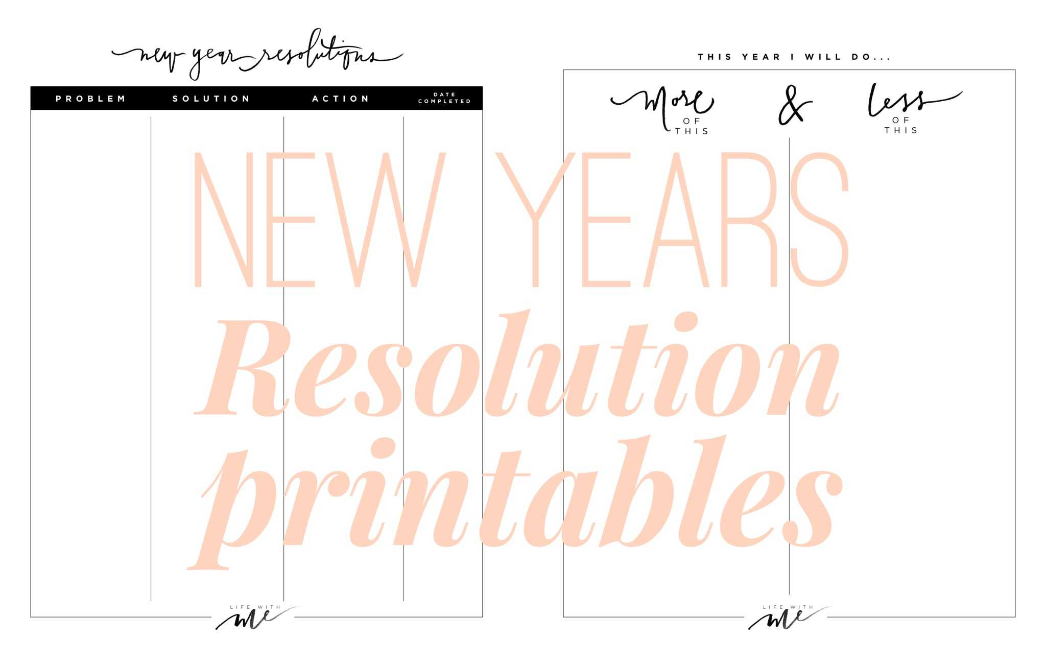 New Year Goal Setting Worksheet or 2016 Printable New Years Resolutionsgoals Thirty Inducedfo