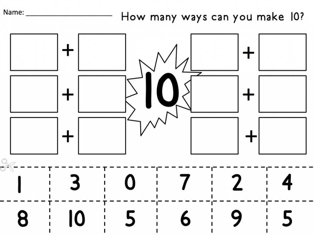 Ordering Numbers Worksheets Also Math Worksheets For Prek