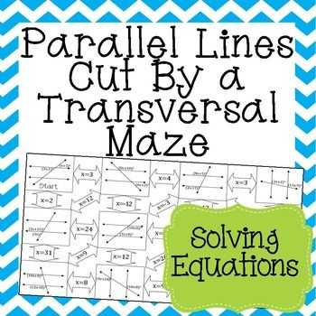Parallel Lines Cut by A Transversal Worksheet Answer Key with 105 Best Geometry Images On Pinterest