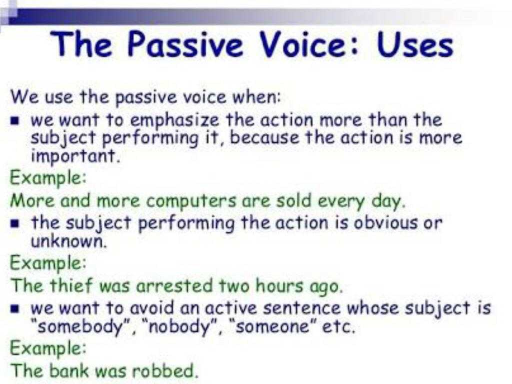 Passive Voice Worksheets Also Passive Voice by Irma Tllez