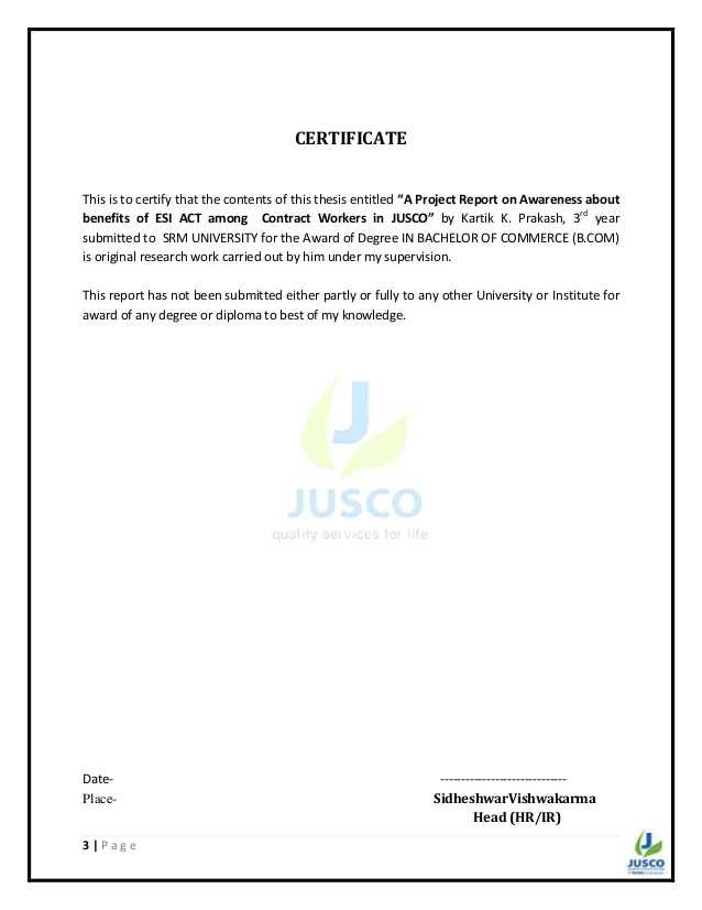 Permanent Partial Disability Award Calculation Worksheet Along with Awareness Of Esi Act Among the Contract Workers Of Jusco