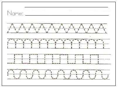 Preschool Writing Worksheets Also Cursive Writing In Schools