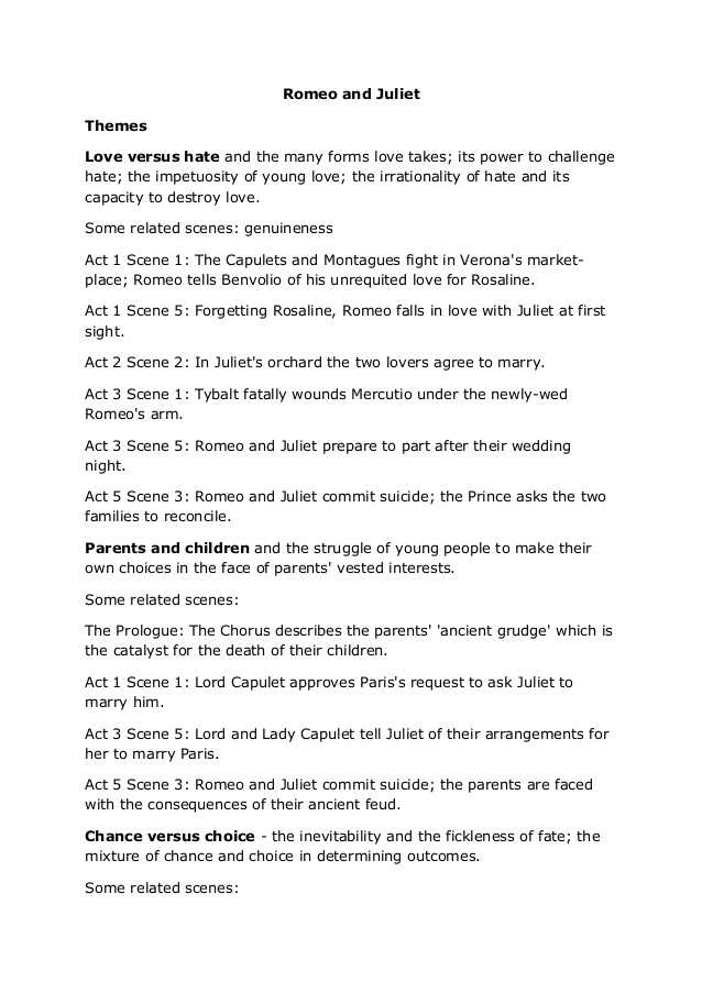 Romeo and Juliet Worksheets Act 1 and Romeo and Juliet Notes From Royal Shakespeare Pany
