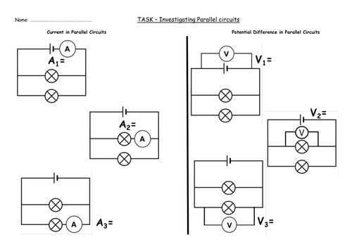 Series and Parallel Circuits Worksheet with Answers together with Series and Parallel Circuits Worksheet Awesome Ponent Series Circuit