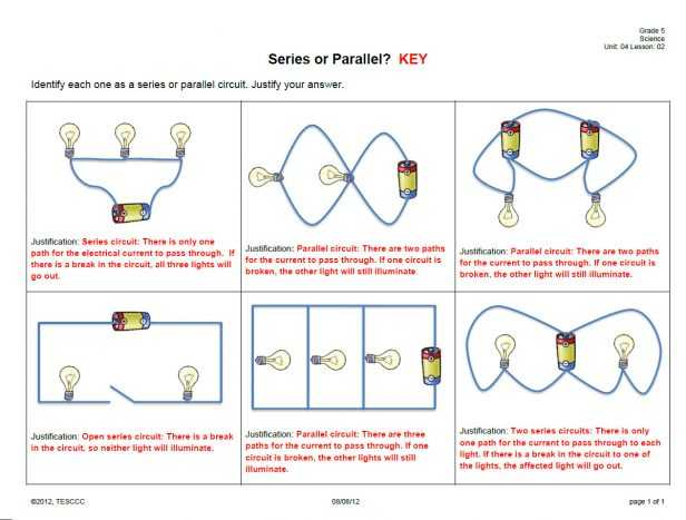 Series and Parallel Circuits Worksheet with Answers with Ponent Series Parallel Circuit How to solve Any Series and
