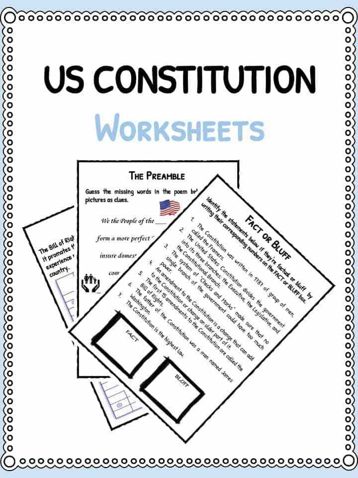 Seven Principles Of Government Worksheet Answers Along with Constitution Worksheet Pdf aslitherair