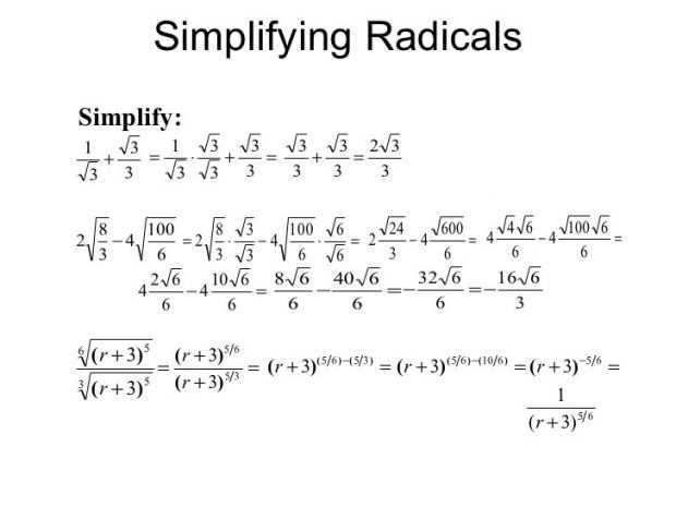 Simplifying Radical Expressions Worksheet Answers as Well as Simplifying Exponents Worksheet