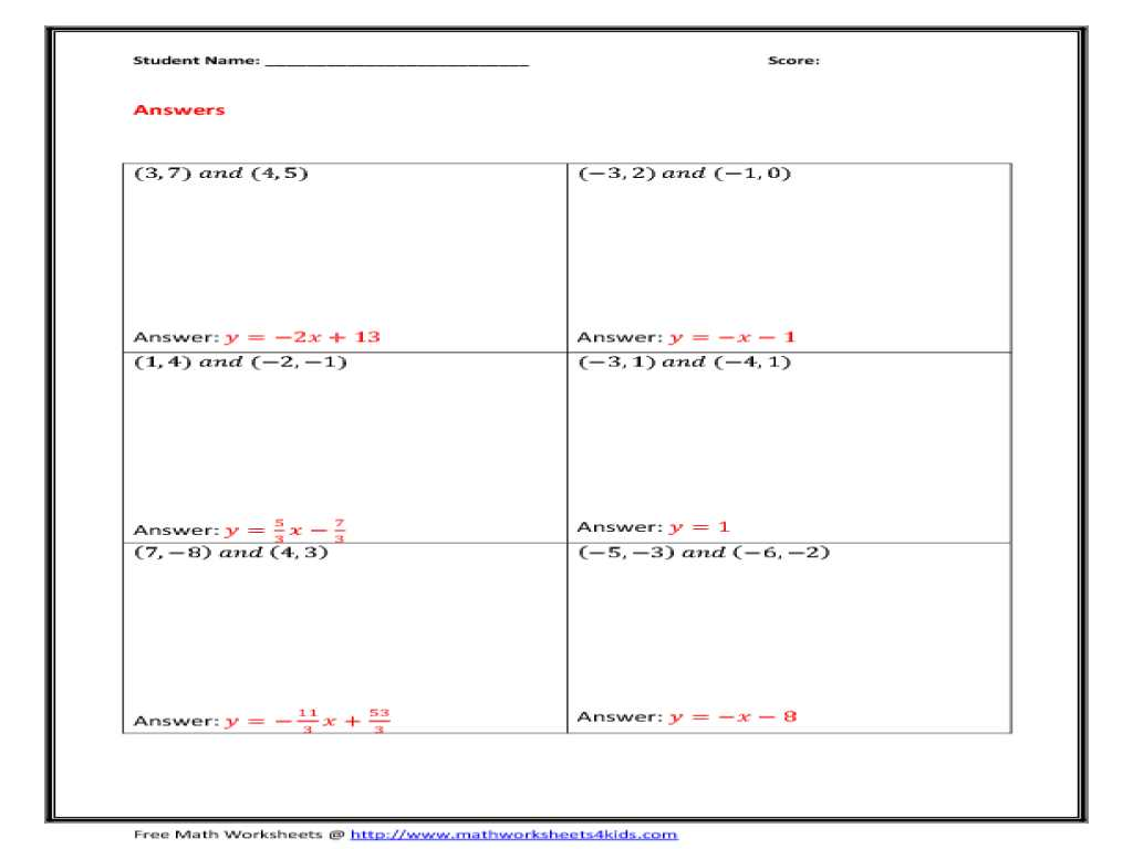 Solve and Graph the Inequalities Worksheet Answers as Well as Slope A Line Worksheets 23 Worksheet
