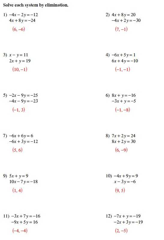 Solving Systems Of Equations by Elimination Worksheet Pdf and Fresh solving Multi Step Equations Worksheet Unique solving Systems