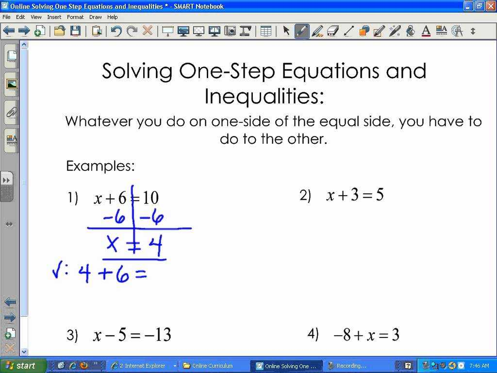 Solving Systems Of Linear Equations by Substitution Worksheet as Well as solving Estep Equations and Inequalities with Speakingpar