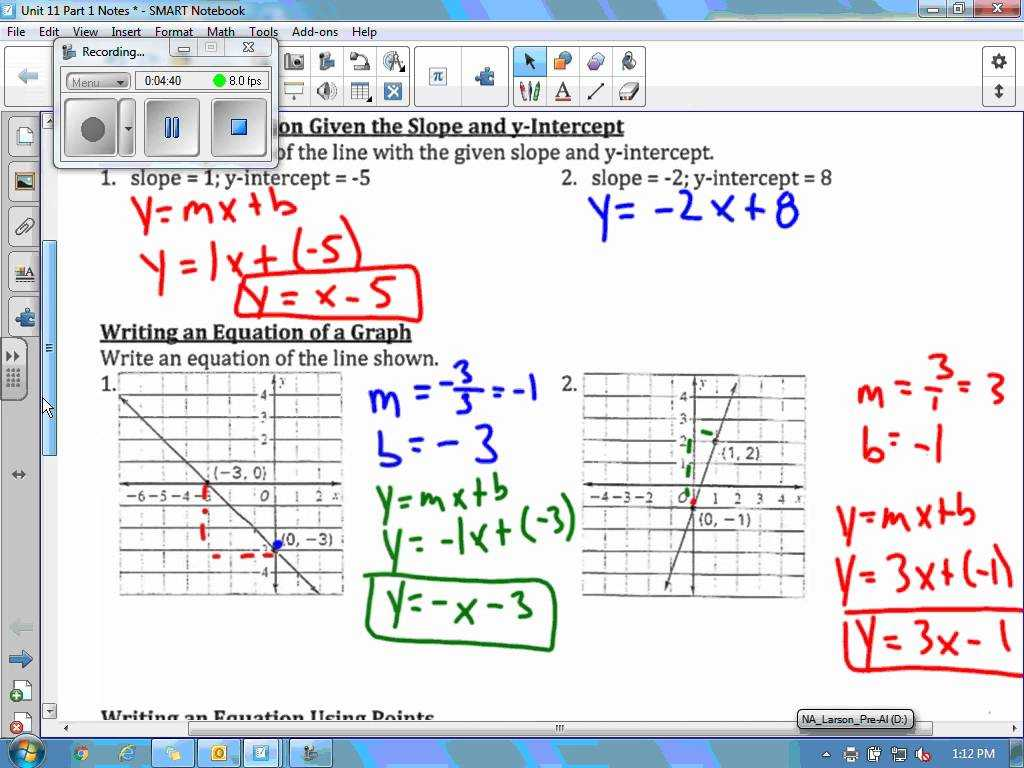 Solving Systems Of Linear Equations by Substitution Worksheet or Unit 11 Part 1 Video
