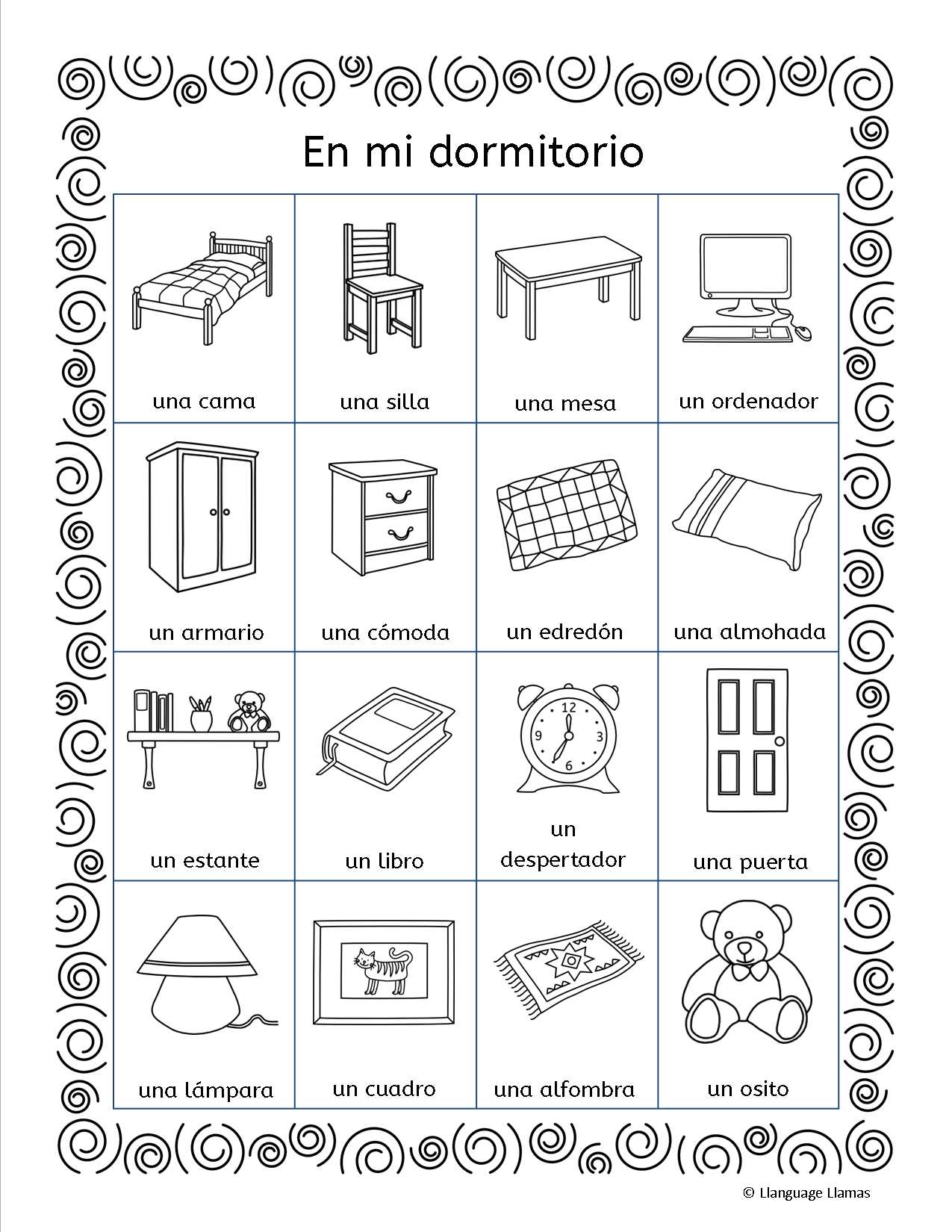 Spanish Lesson Worksheets as Well as Spanish Vocabulary Worksheets Image Collections Worksheet for Kids