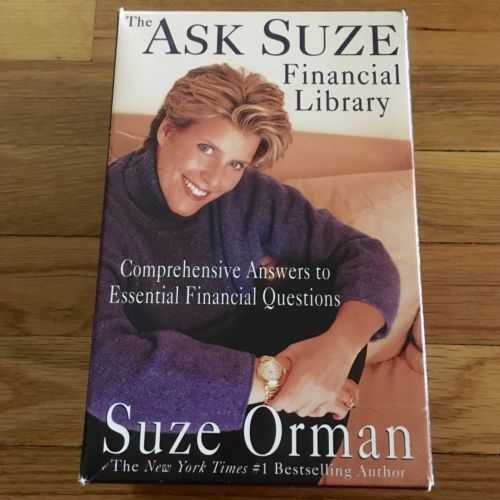 Suze orman Worksheets Also the ask Suze Financial Library by Suze orman 9 Book Box Set Finances