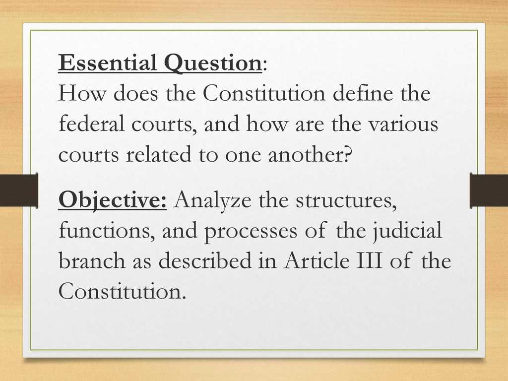 The Constitutional Convention Worksheet and Chapters 11 and 12 the Judicial Branch Ppt