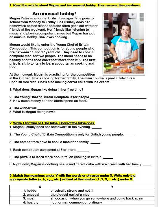 The Great Debaters Movie Worksheet Answers with An Unusual Hobby Reading Prehension