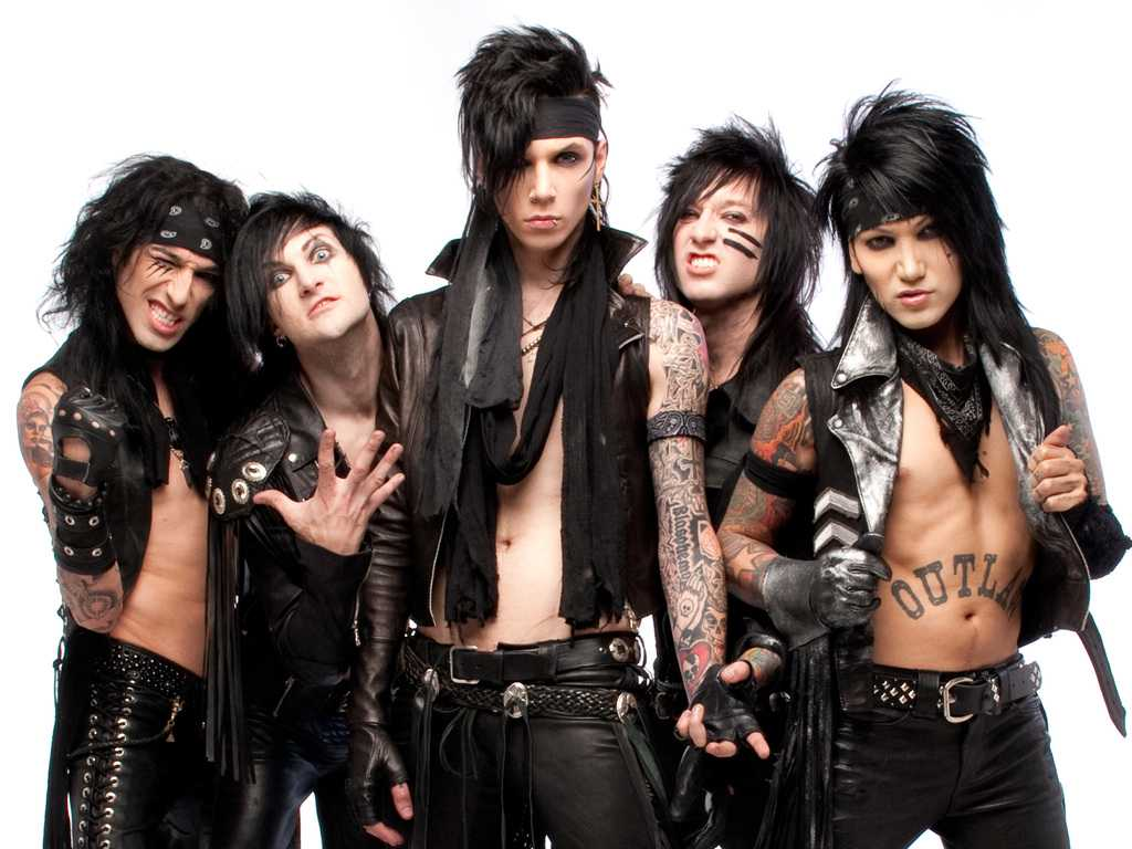 The Minister's Black Veil Worksheet Answers with Music ashley Black Veil Brides Jinxx Glam Metal