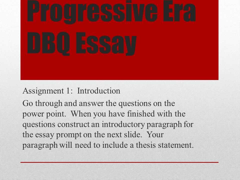 The Progressive Era Video Worksheet Answers with Essay