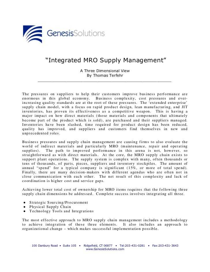 The True Cost Of Ownership Worksheet Answers together with Integrated Mro Supply Management