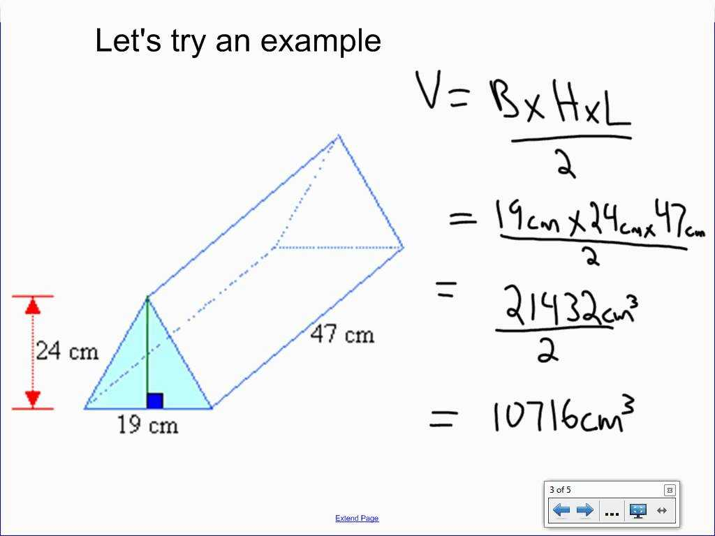 Volume Of Rectangular Prism Worksheet with Volume Of A Triangular Prism All Video Clips Full Hd Clip