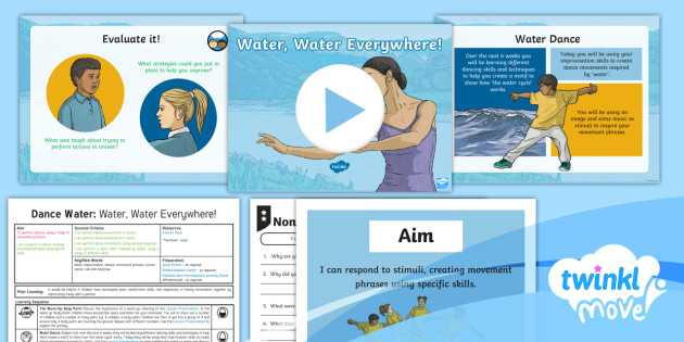 Water Water Everywhere Worksheet Answers as Well as Twinkl Move Year 4 Dance Water Lesson 1 Water Water
