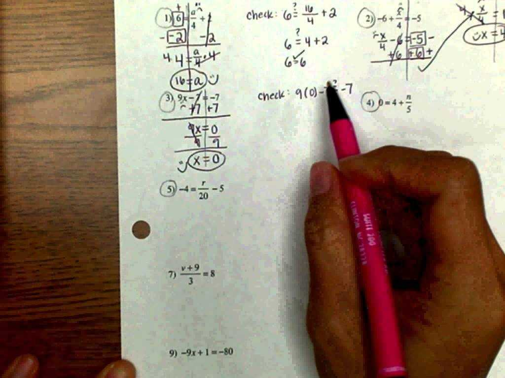Worksheet Mole Problems with solving Multi Step Equations Worksheet Answers Algebra 1 Awe