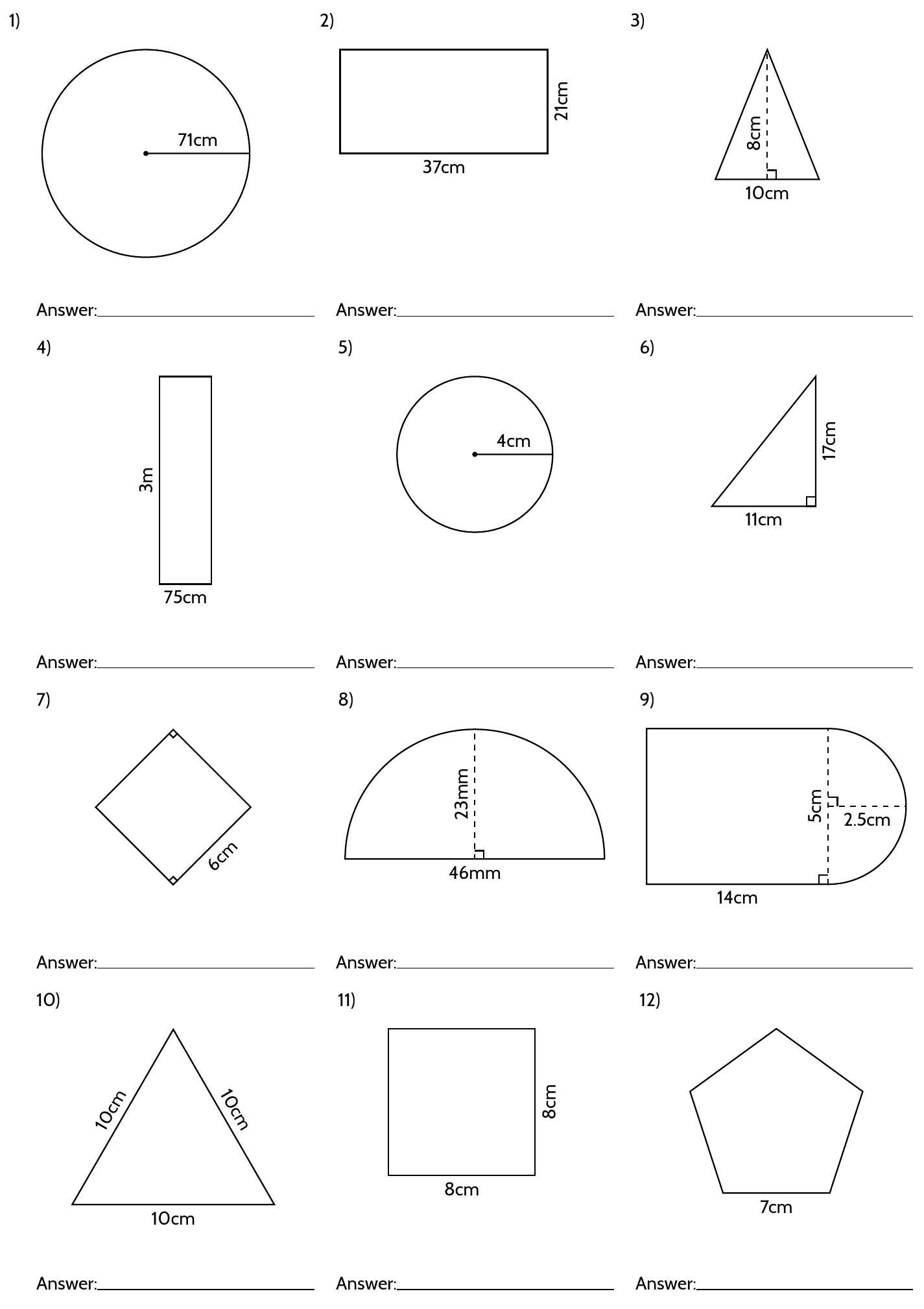 7th Grade Worksheets Free Printable Along with Tikz Pgf Making Geometry Worksheets In Latex Tex