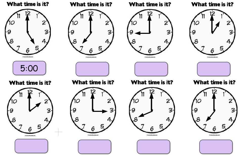 Clock Time Worksheets Also Jacqui Sharp Creating Math Activities