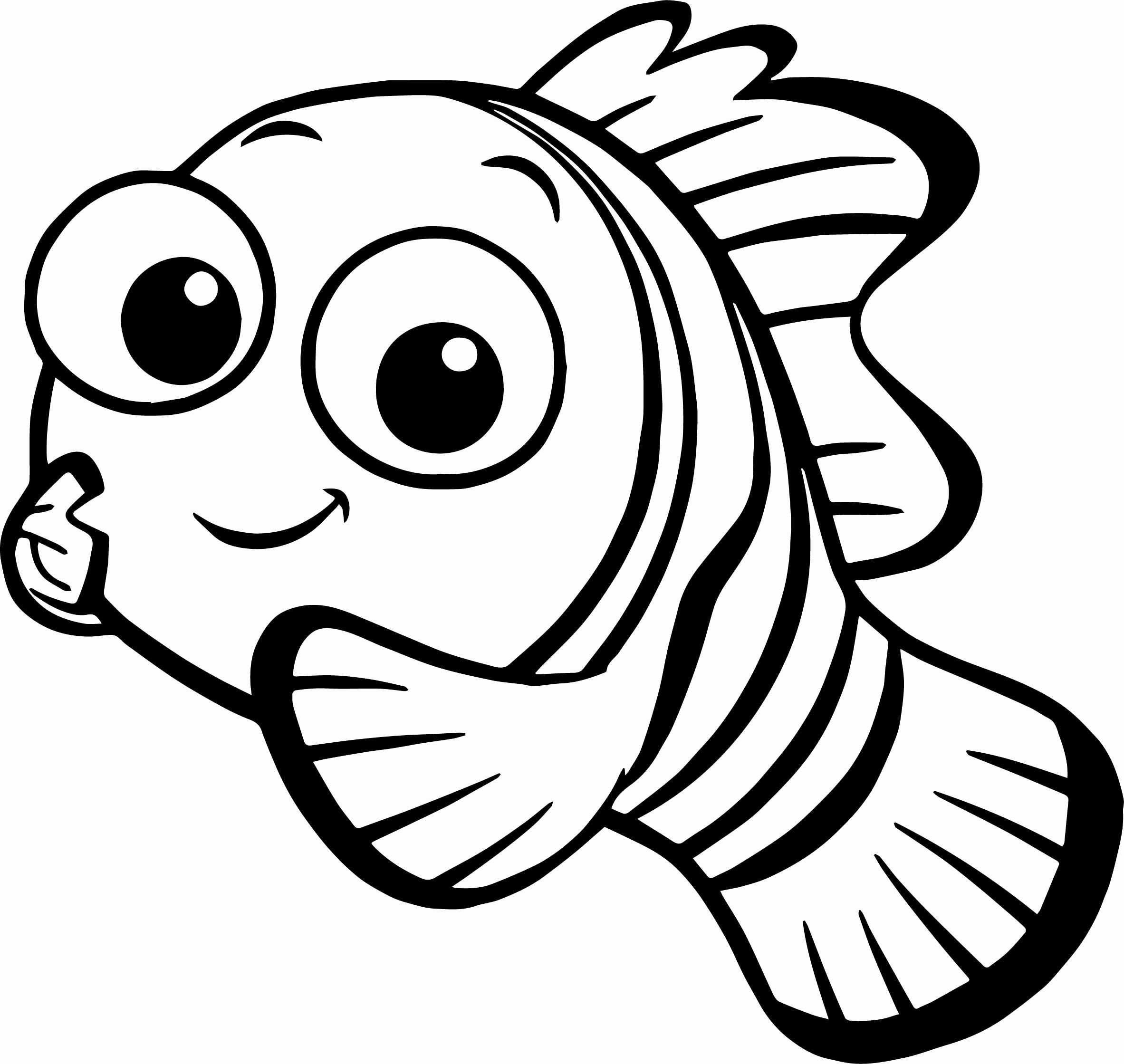 Finding Nemo Worksheet or Finding Nemo Coloring Page Free Coloring Pages Download