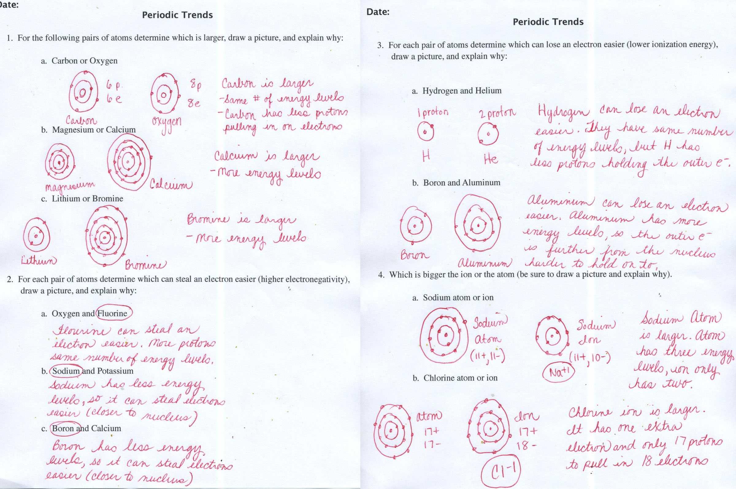 Interpreting Graphics Worksheet Answers Chemistry | Semesprit