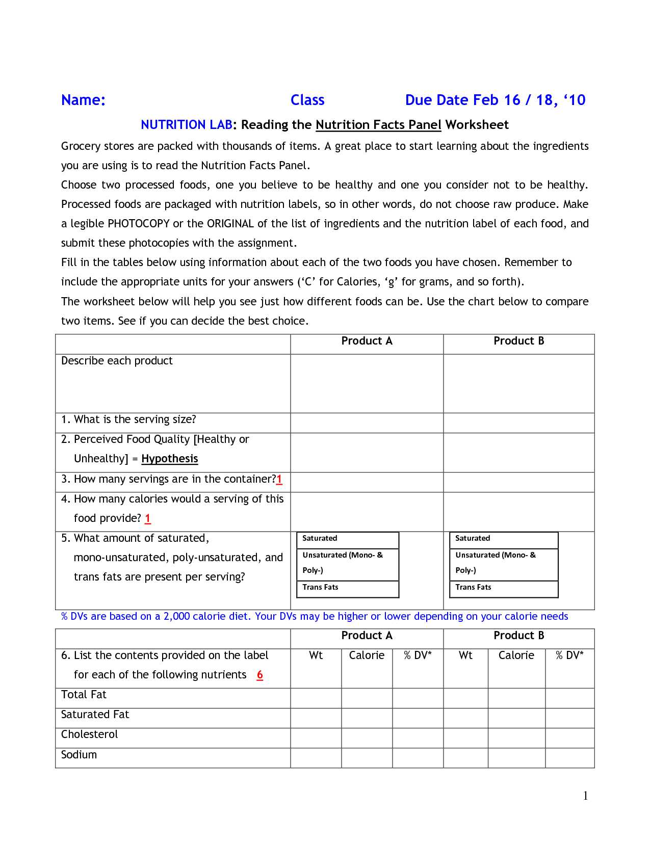 Nutrition Worksheets Pdf as Well as T Worksheets Intoysearch