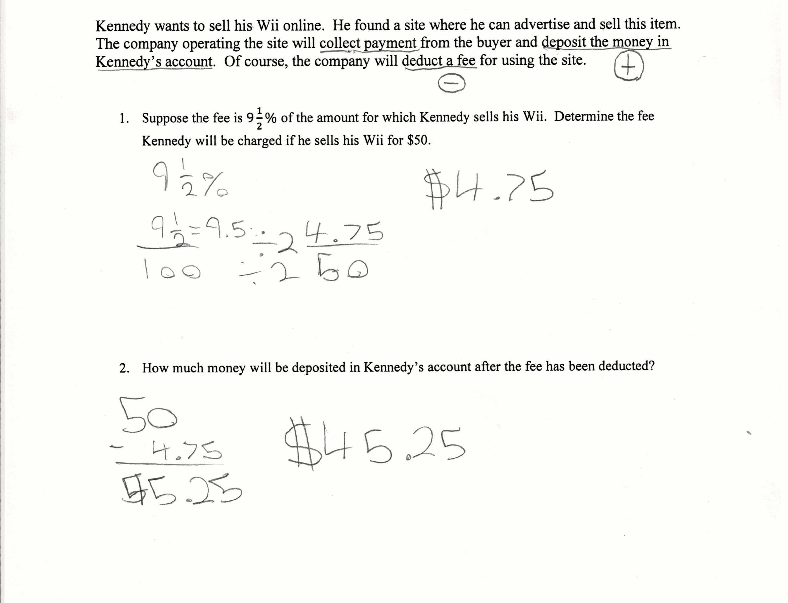 Sale Of Main Home Worksheet as Well as 46 Best Calculating Sales Tax Worksheet