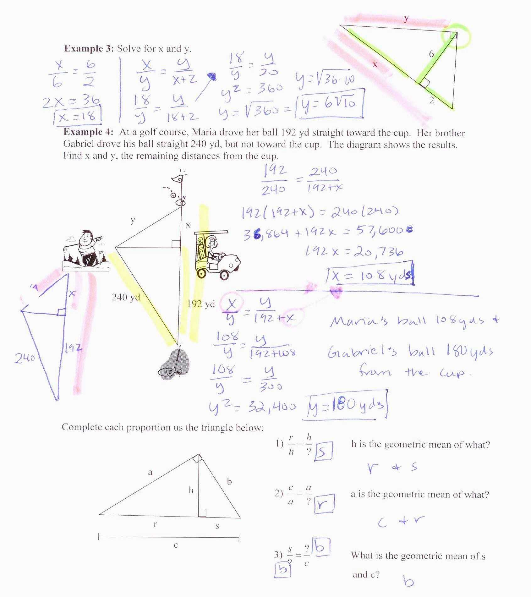 Special Right Triangles Worksheet Answer Key with Work or 35 Similar Triangles Worksheet Answers Document Design Ideas