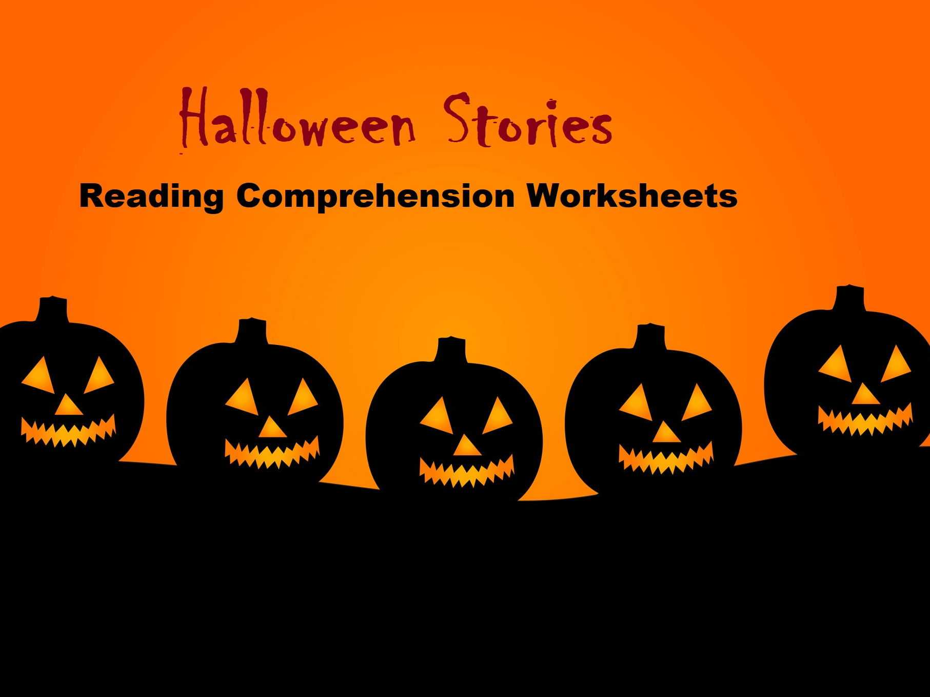 Story Elements Worksheet Pdf Along with Halloween Stories Reading Prehension Worksheets Save by