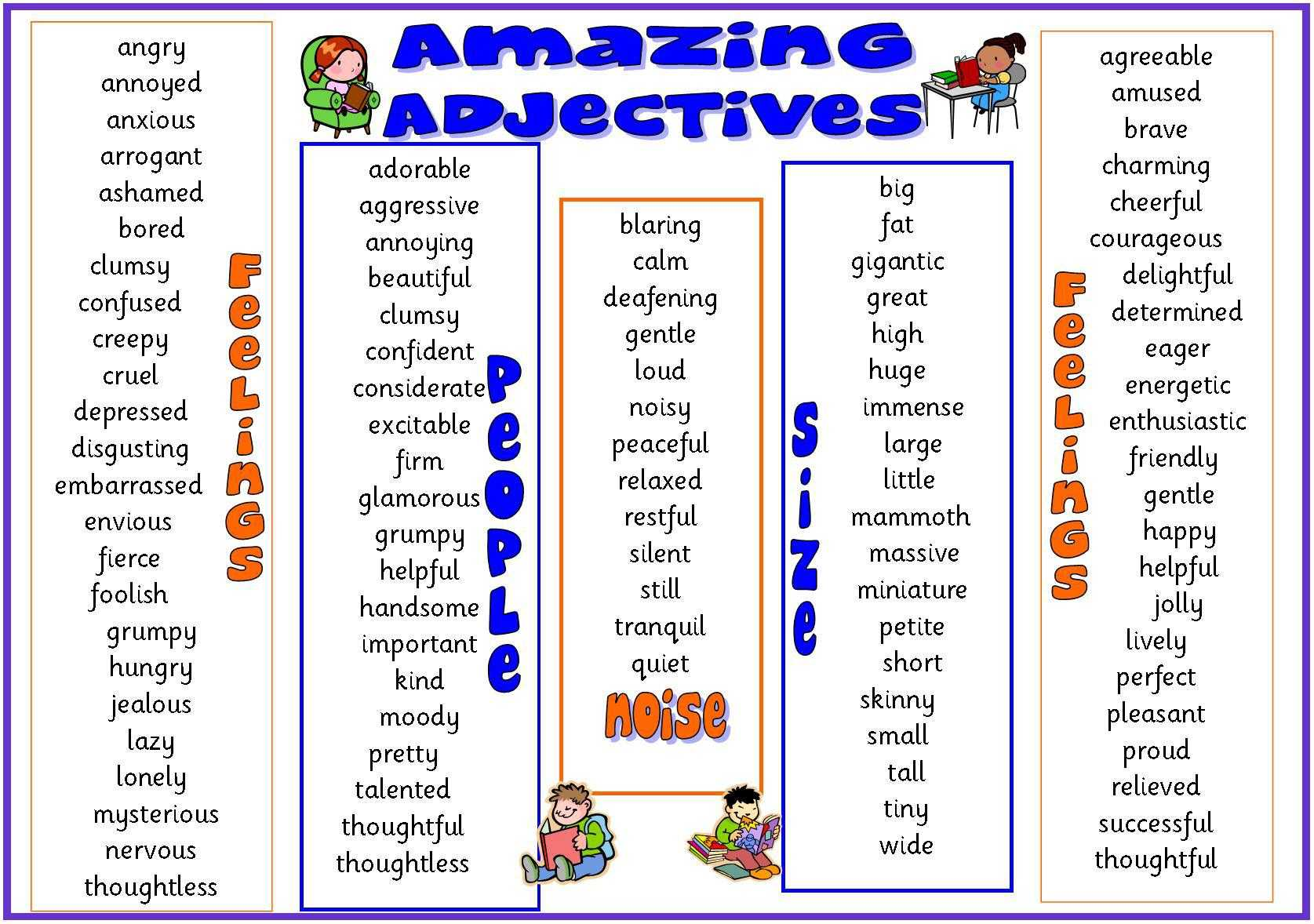 Super Size Me Film Worksheet Answers as Well as Describing People Adjectives