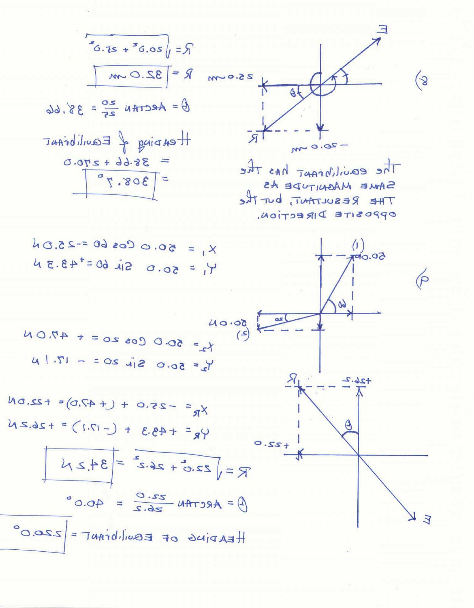 Two Dimensional Motion and Vectors Worksheet Answers together with Subtract Two Vectors