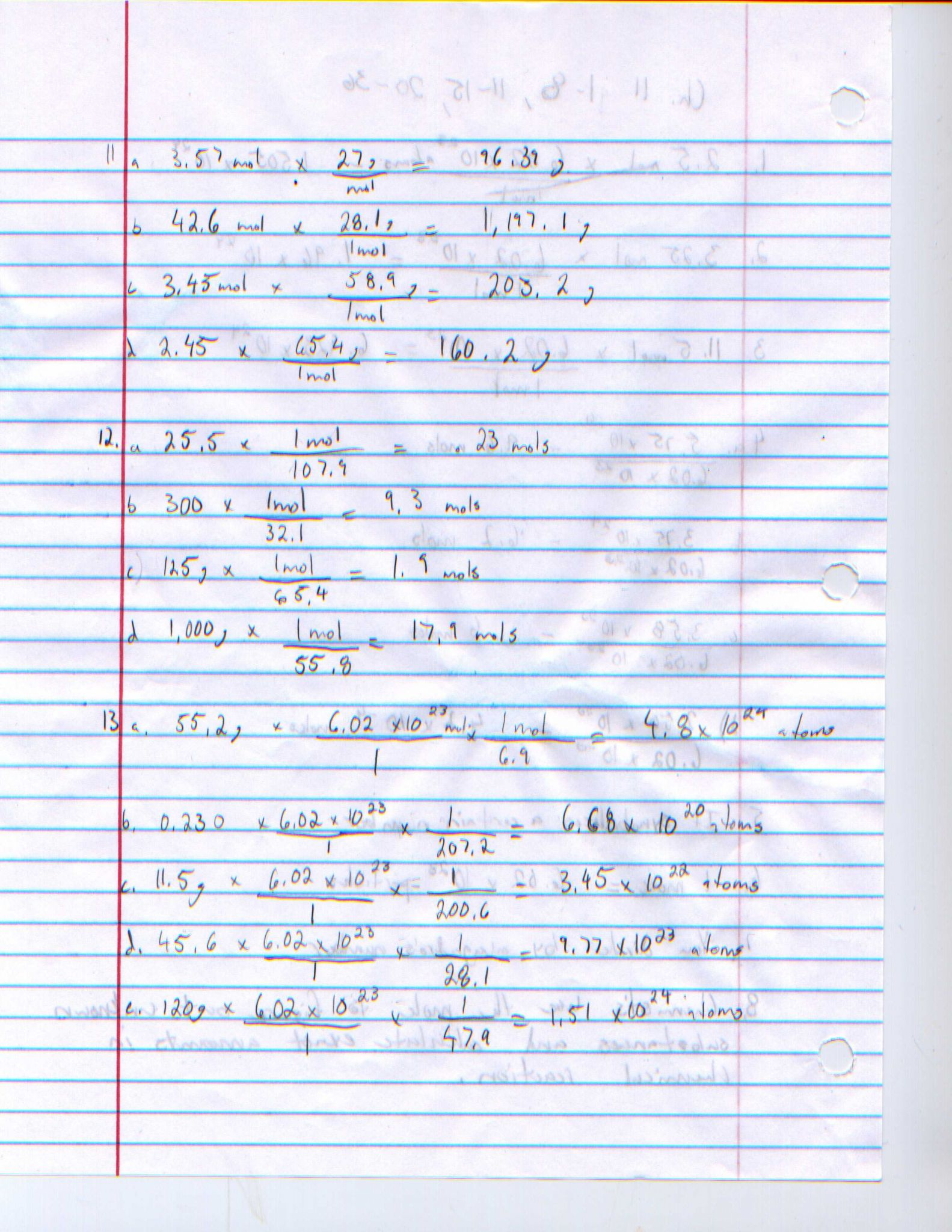 Worksheet Mole Mass Problems Along With Uncategorized