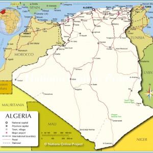 semestafakta-algeria map