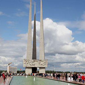 semestafakta-Memorial complex Victory Square in Vitebsk