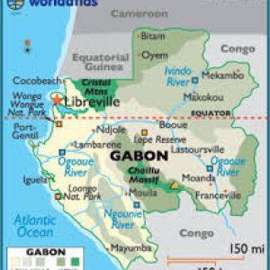 semestafakta-gabon map
