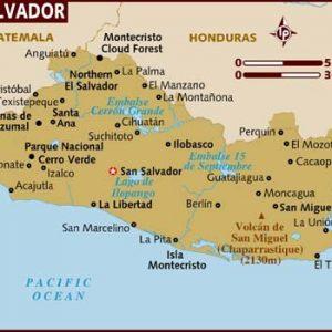 semestafakta-el salvador map