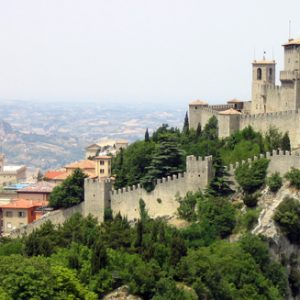 semestafakta-the Three Towers of San Marino -guaita