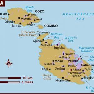 semestafakta-malta map