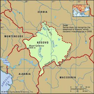semestafakta-KOSOVO MAP
