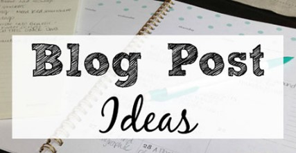 How to Come Up With Blog Post Topics
