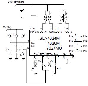 SLA7024M  Sanken Electric